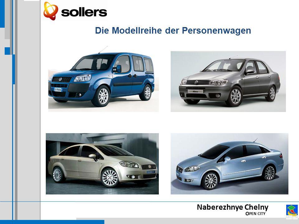Naberezhnye Chelny O PEN CITY Die Modellreihe der Personenwagen