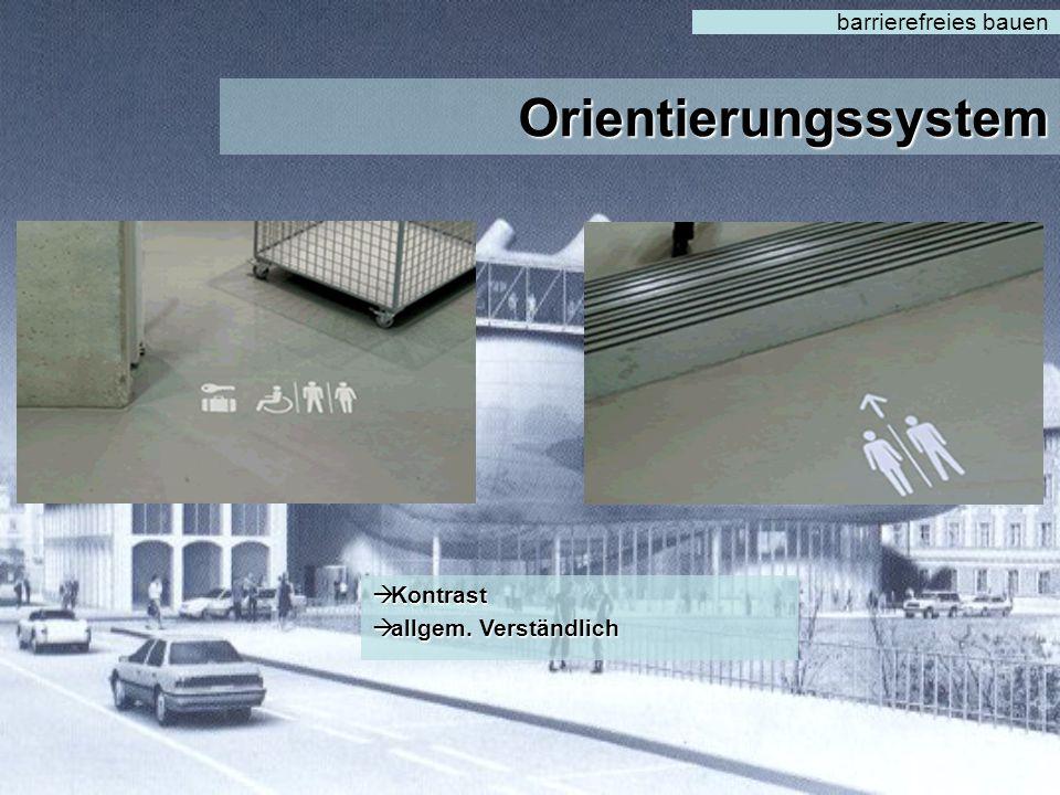 Grundrissgestaltung barrierefreies bauen Installationsanschlüsse für Wechselausstellung bzw. Revisionsöffnungen Installationsanschlüsse für Wechselaus