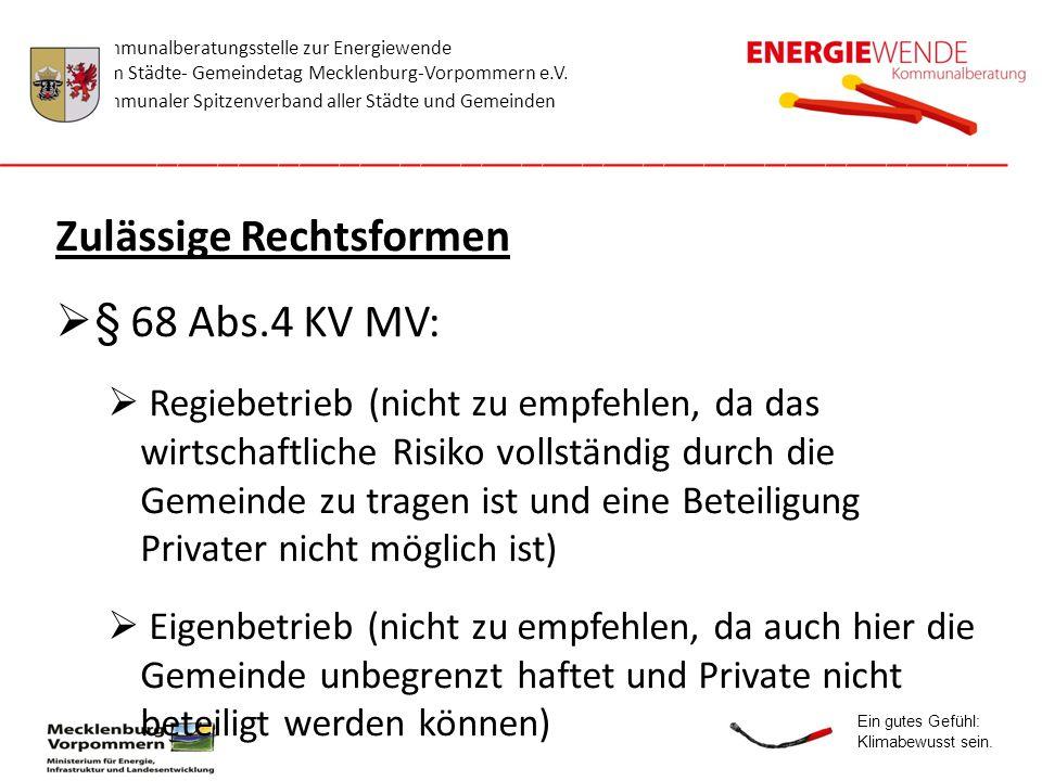 Kommunalberatungsstelle zur Energiewende beim Städte- Gemeindetag Mecklenburg-Vorpommern e.V. Kommunaler Spitzenverband aller Städte und Gemeinden ___