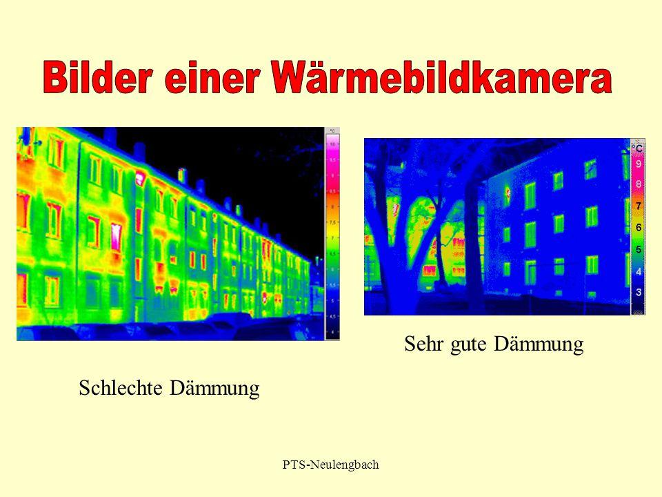 PTS-Neulengbach Sehr gute Dämmung Schlechte Dämmung