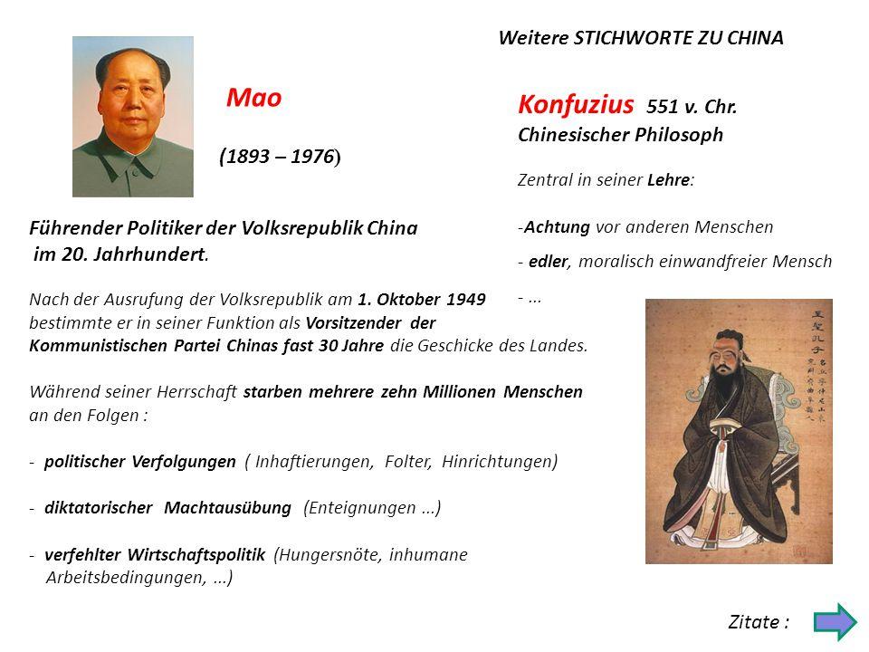 Chinesische Medizin (Akupunktur...) Chinesische Mauer (ca.