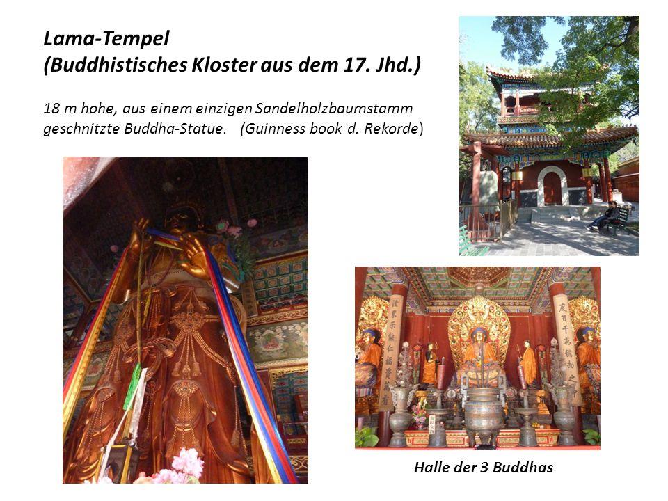 Himmelstempel: Die Halle des Erntegebets Hier betete der Kaiser jedes Jahr 3 x für eine reiche Ernte