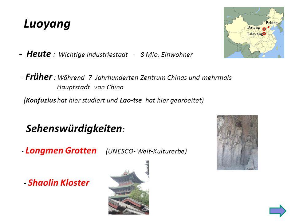 Die Holzpagode Die grösste und älteste erhalten gebliebene Pagode Chinas (11.