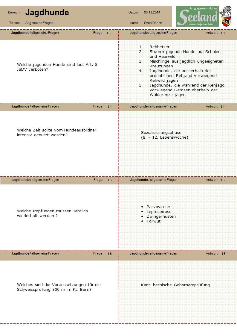 Jagdhunde / allgemeine FragenFrageJagdhunde / allgemeine FragenAntwort Jagdhunde / allgemeine FragenFrageJagdhunde / allgemeine FragenAntwort Jagdhund