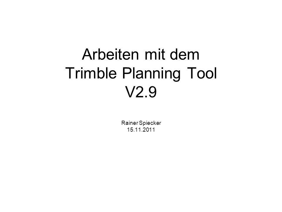 1.Trimble Tool downloaden: http://www.trimble.com/planningsoftware_ts.asp?Nav=Collection-8425 2.