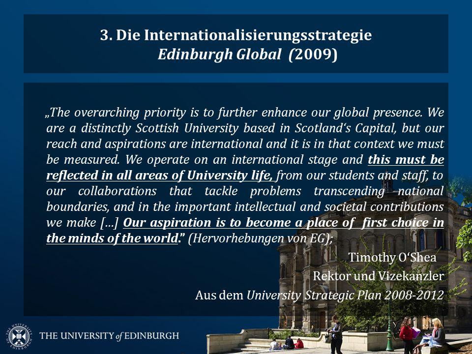 3.1.Edinburgh Global: Key outcomes & key actions 1.