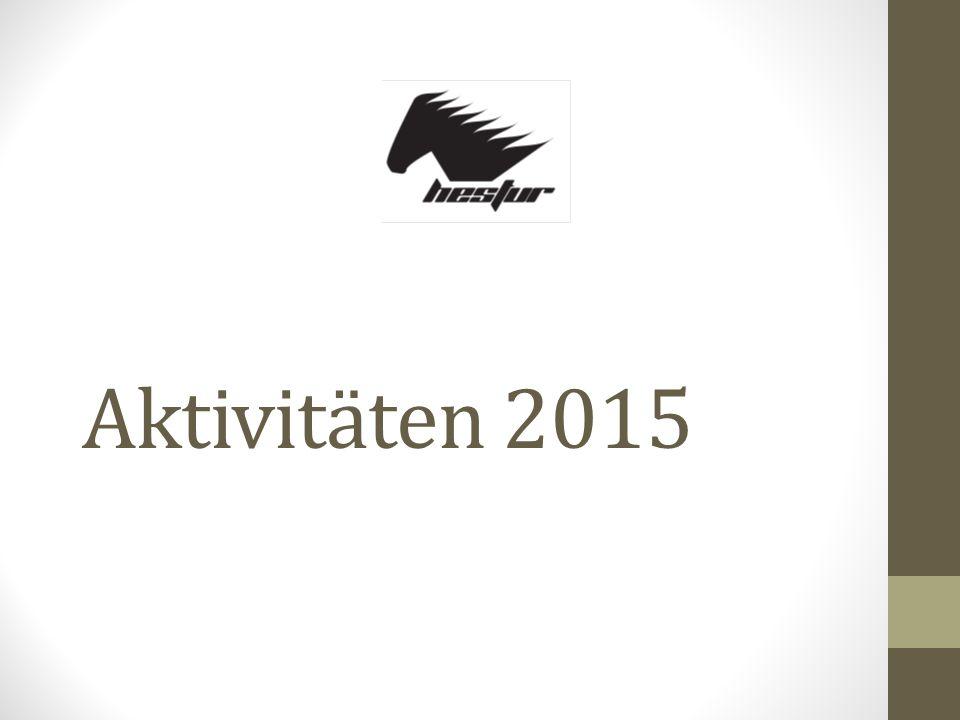 Aktivitäten 2015
