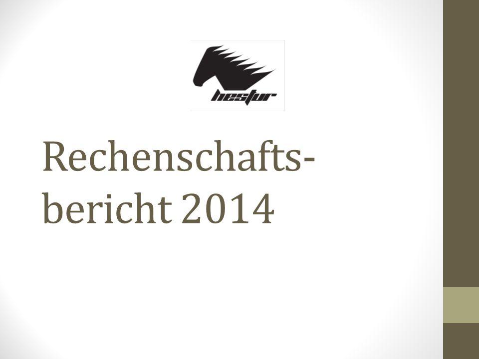 Rechenschafts- bericht 2014