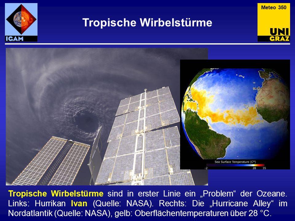 """Tropische Wirbelstürme sind in erster Linie ein """"Problem der Ozeane."""