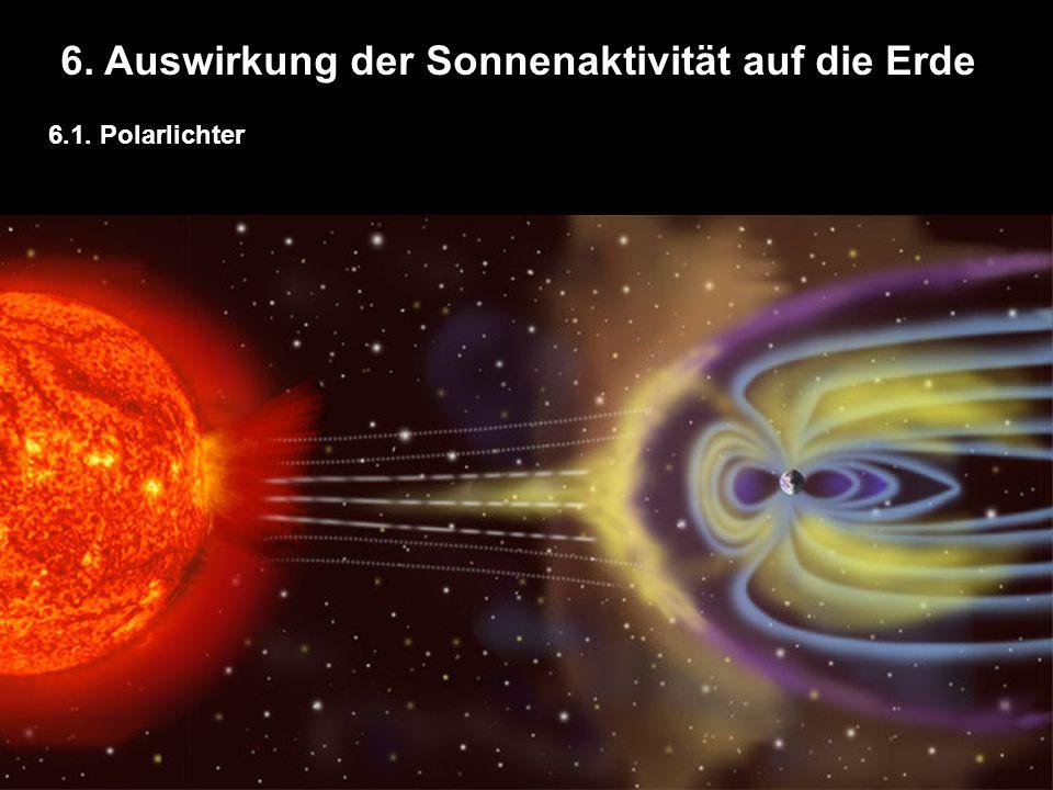 6. Auswirkung der Sonnenaktivität auf die Erde 6.1. Polarlichter