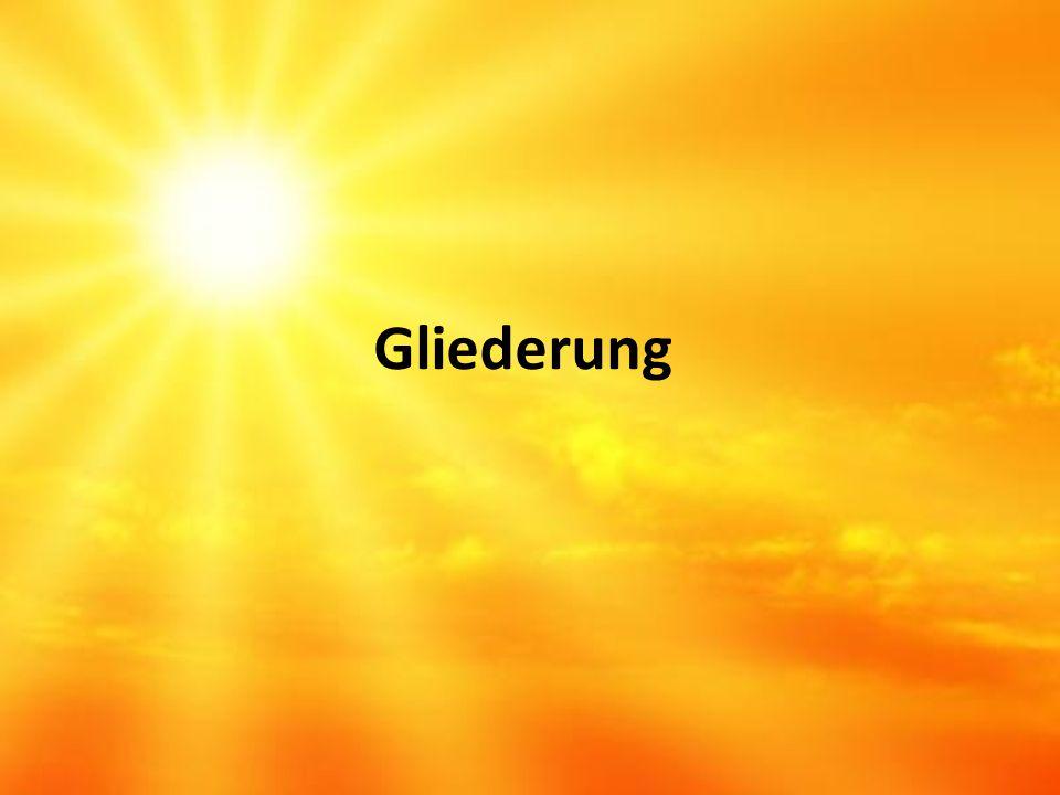 1.Aufbau der Sonne 2. Magnetfeld 2.1. Entstehung 2.2.