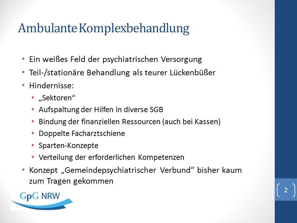 """GpG NRW: """"Stand der Dinge Vertrag für NRW mit TK und KKH (NWpG), AOK RH ist beigetreten."""