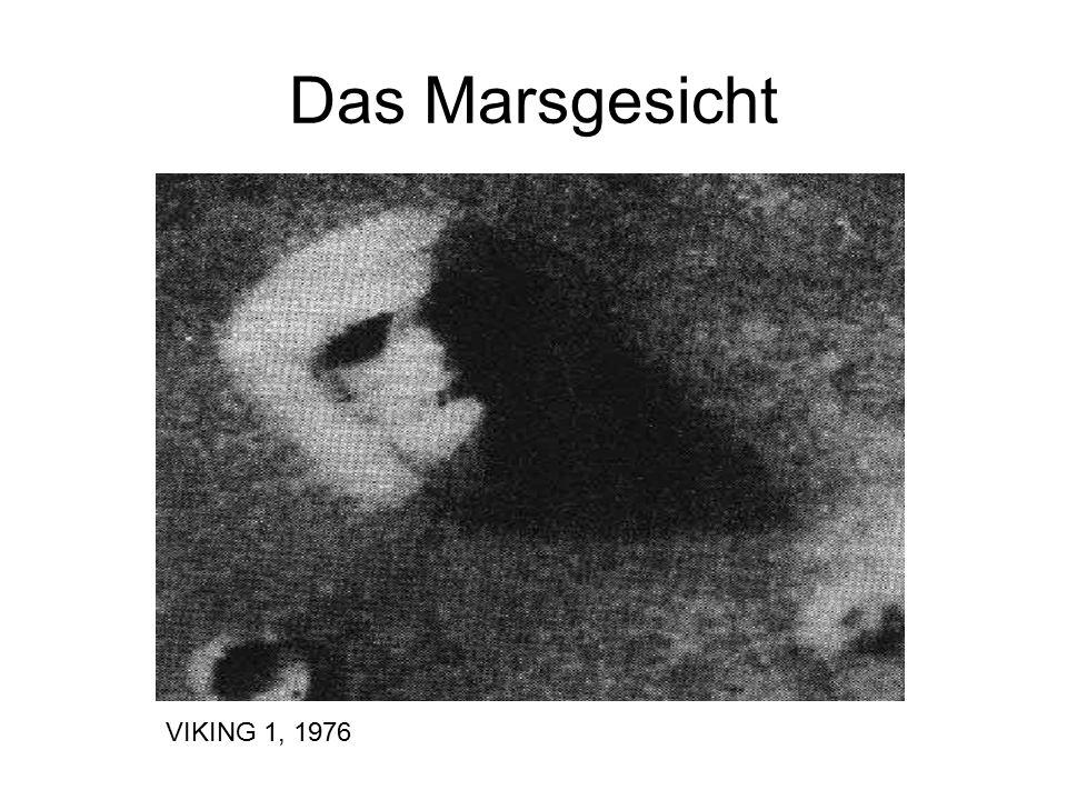 Das Marsgesicht VIKING 1, 1976
