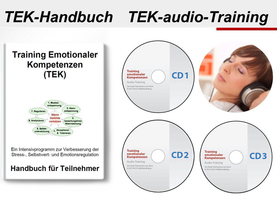 TEK-Handbuch TEK-audio-Training