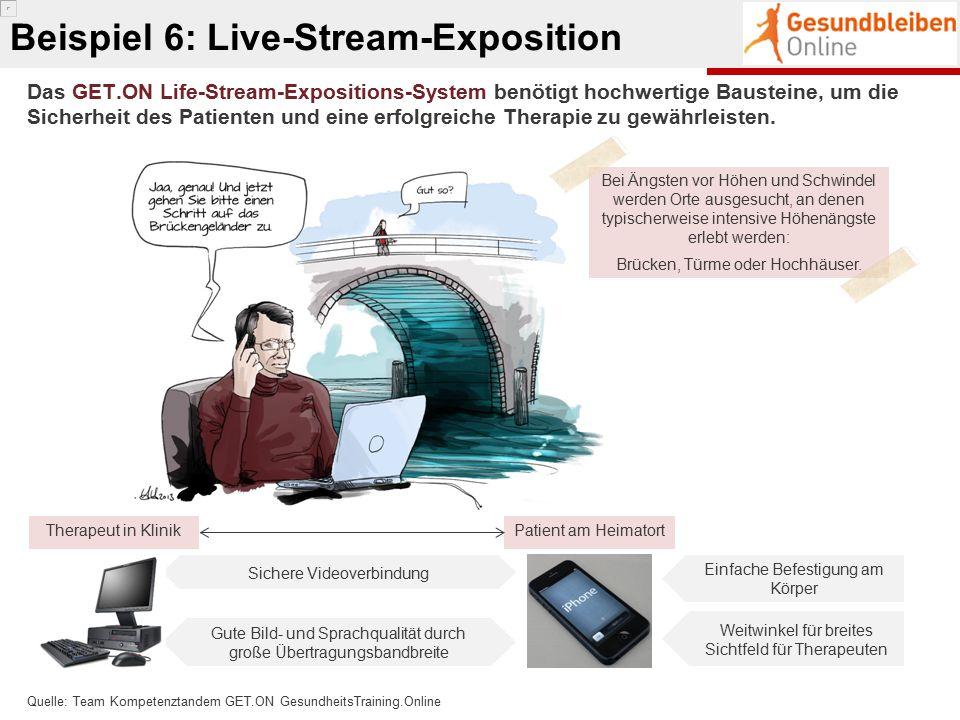 Das GET.ON Life-Stream-Expositions-System benötigt hochwertige Bausteine, um die Sicherheit des Patienten und eine erfolgreiche Therapie zu gewährleis