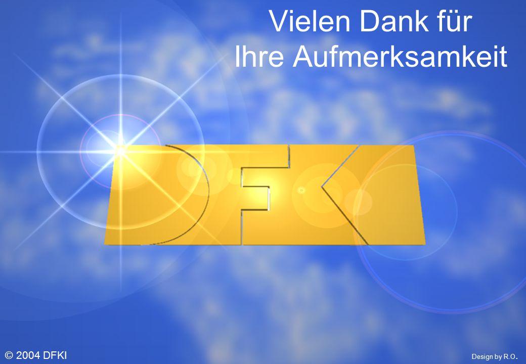 © W. Wahlster © 2004 DFKI Design by R.O. Vielen Dank für Ihre Aufmerksamkeit