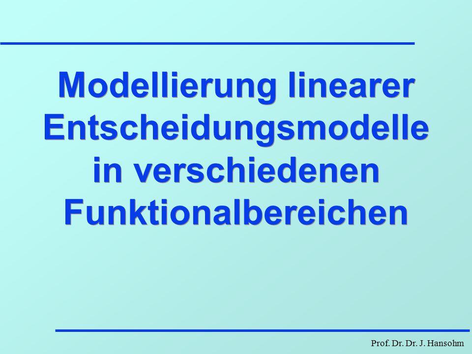 Prof. Dr. Dr. J. Hansohm Berger - Lösung