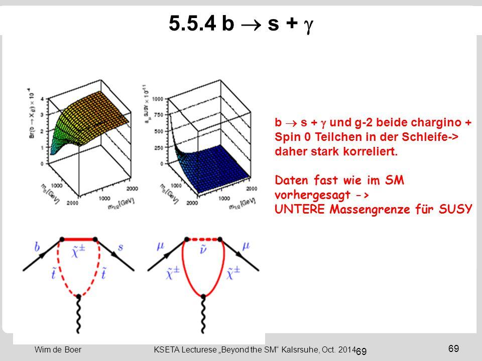 "69 Wim de Boer KSETA Lecturese ""Beyond the SM Kalsrsuhe, Oct."