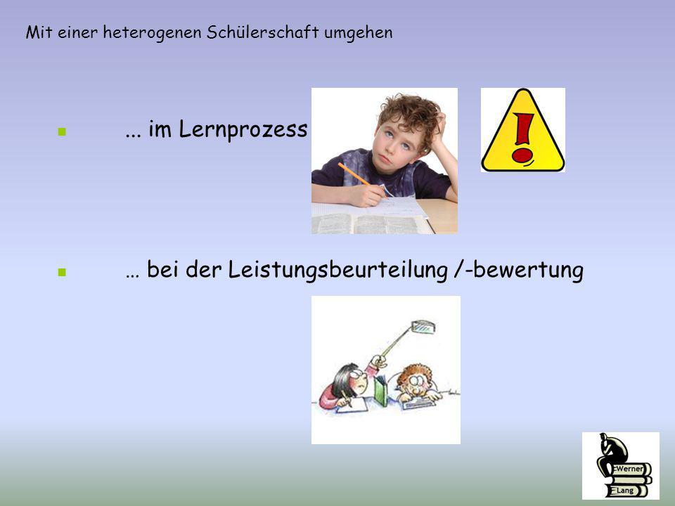 Lernwege öffnen eigene Lernwege beschreiten Werner Lang