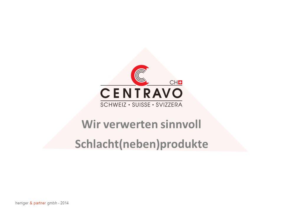 Schlacht(neben)produkte Wir verwerten sinnvoll herriger & partner gmbh - 2014