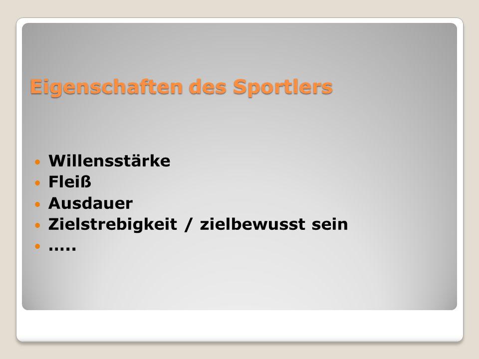 Wie kann man verschiedene Sportarten teilen.