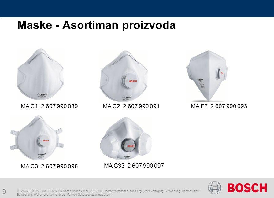 PT-AC/MKP3-PAD | 06.11.2012 | © Robert Bosch GmbH 2012.