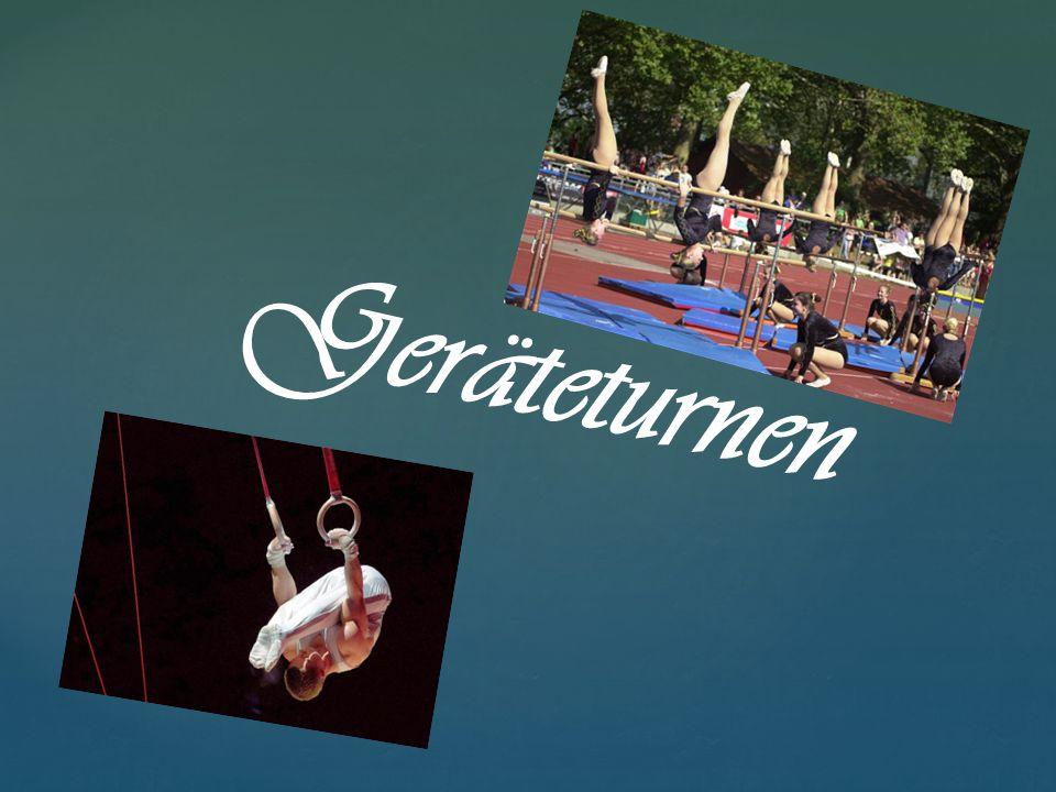  Gerätturnen (auch Kunstturnen oder Geräteturnen) ist eine olympische Individualsportart.