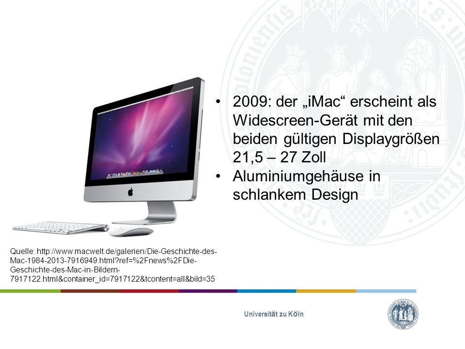 Macintosh Universität zu Köln https://www.apple.com/de/30- years/