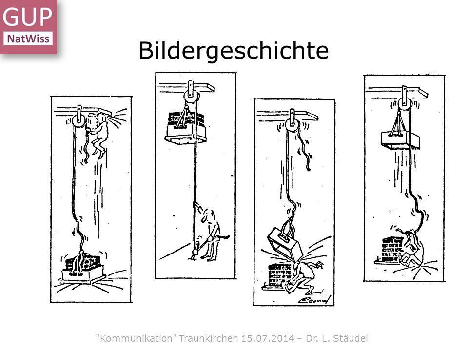 Bildergeschichte Kommunikation Traunkirchen 15.07.2014 – Dr. L. Stäudel