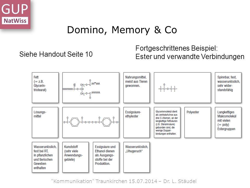 Domino, Memory & Co