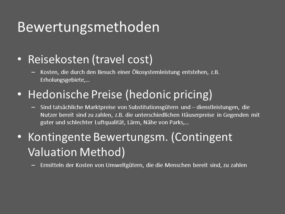 nach Costanza et al. (1997), in De Groot (2000)