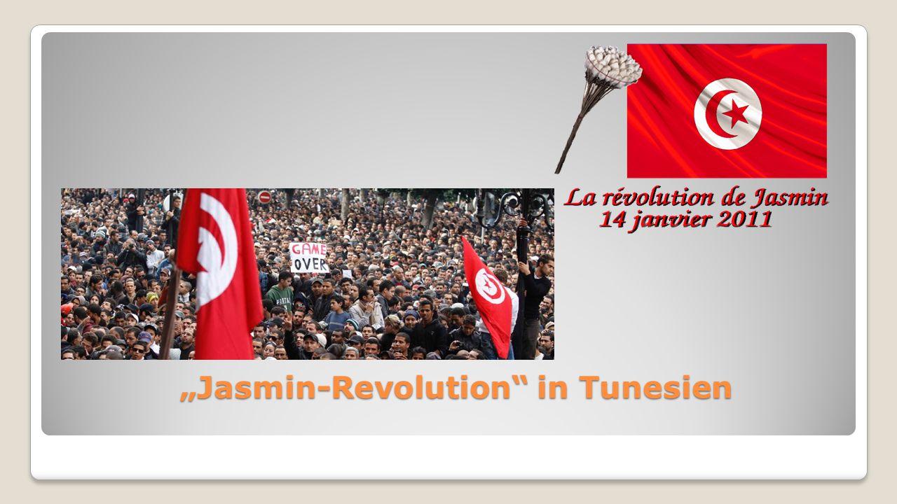 """Jasmin-Revolution in Tunesien ""Jasmin-Revolution in Tunesien"