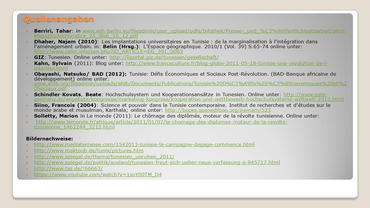 Quellenangaben Berriri, Tahar: in www.ash-berlin.eu/fileadmin/user_upload/pdfs/Infothek/Presse-_und_%C3%96ffentlichkeitsarbeit/alice- Magazin/Archiv/a
