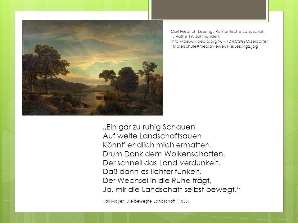 Carl Friedrich Leesing: Romantische Landschaft, 1.