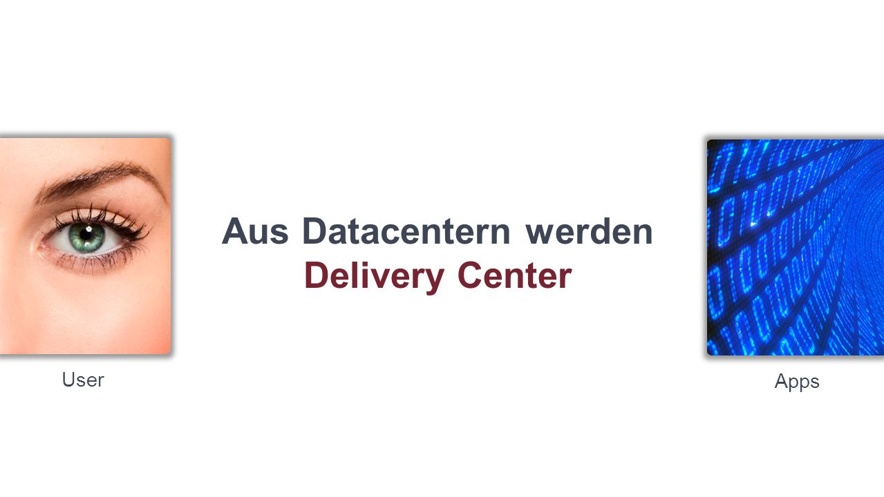 User Apps Aus Datacentern werden Delivery Center