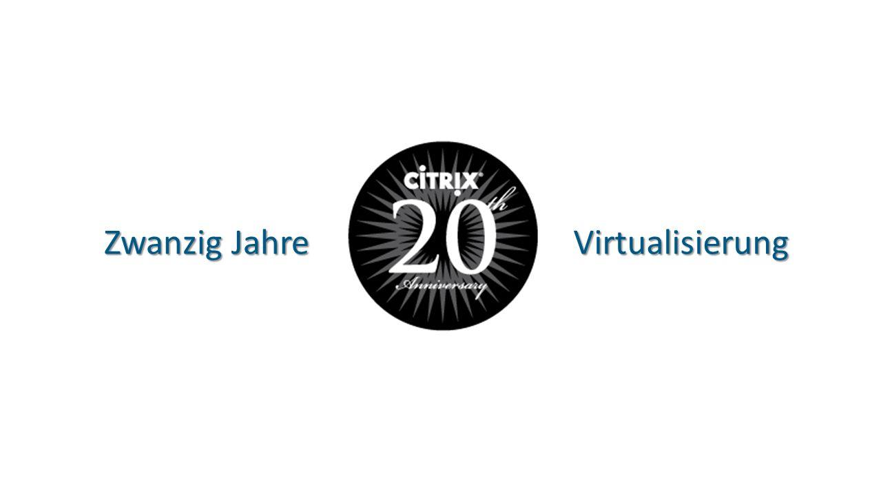 Zwanzig Jahre Virtualisierung