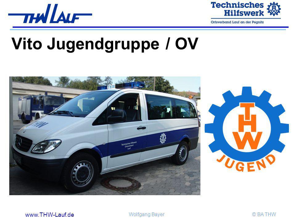 www.THW-Lauf.de Wolfgang Bayer© BA THW Vito Jugendgruppe / OV