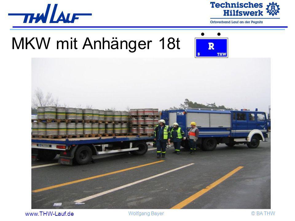 www.THW-Lauf.de Wolfgang Bayer© BA THW MKW mit Anhänger 18t