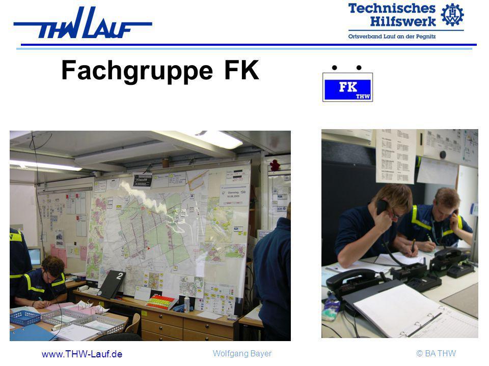 www.THW-Lauf.de Wolfgang Bayer© BA THW Fachgruppe FK