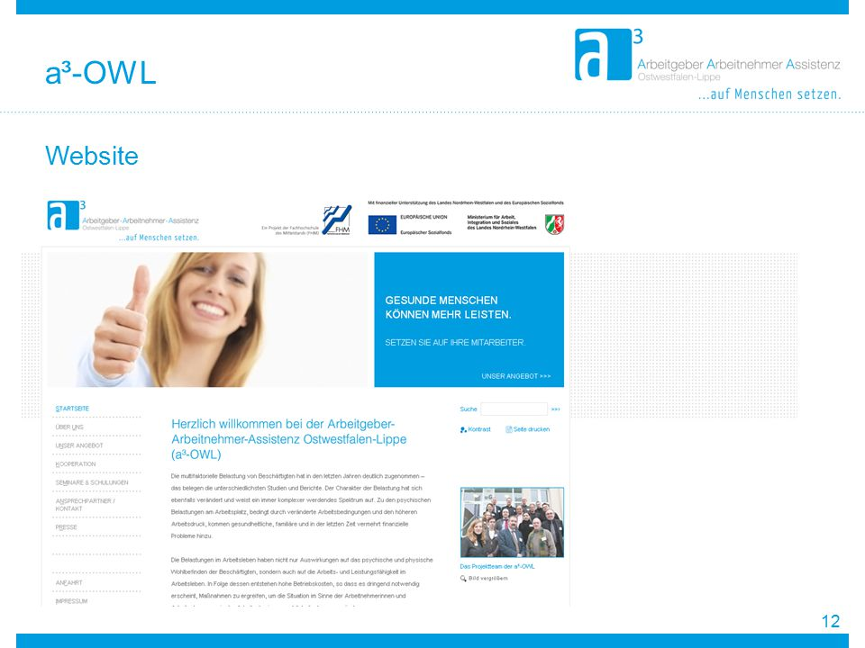 Website 12 a³-OWL