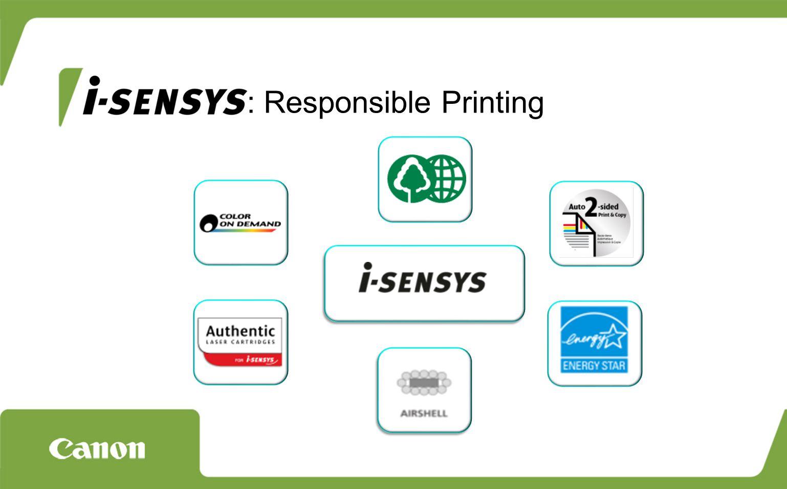 : Responsible Printing
