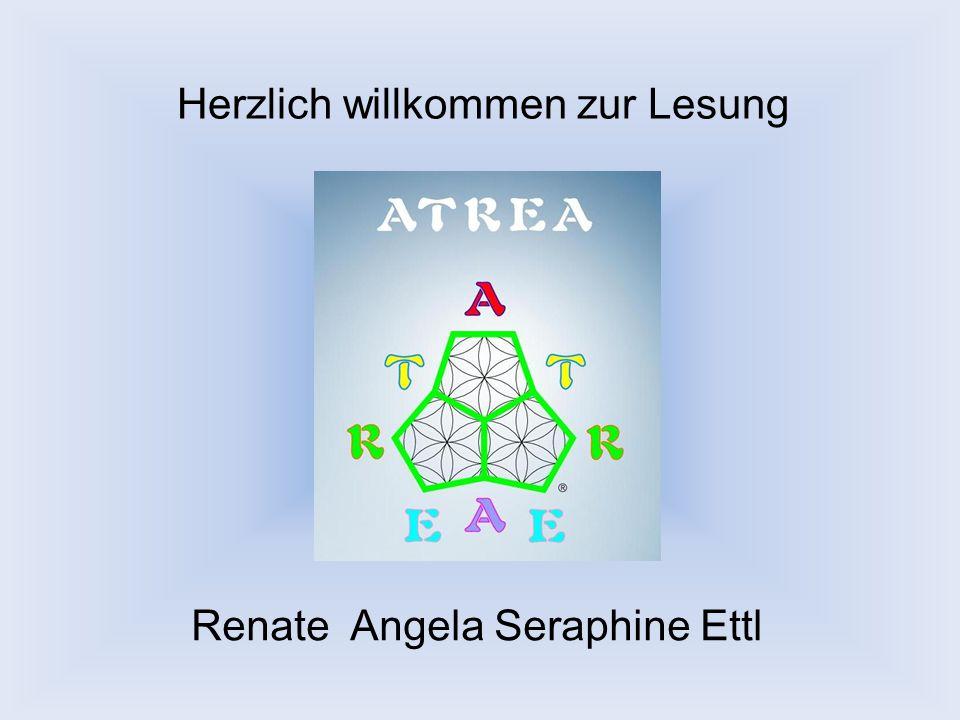 Herzlich willkommen zur Lesung Renate Angela Seraphine Ettl
