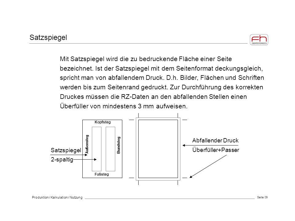 Seite 30 Produktion / Kalkulation / Nutzung Werknutzungsrecht SBH Vereinbarung >> inkl.