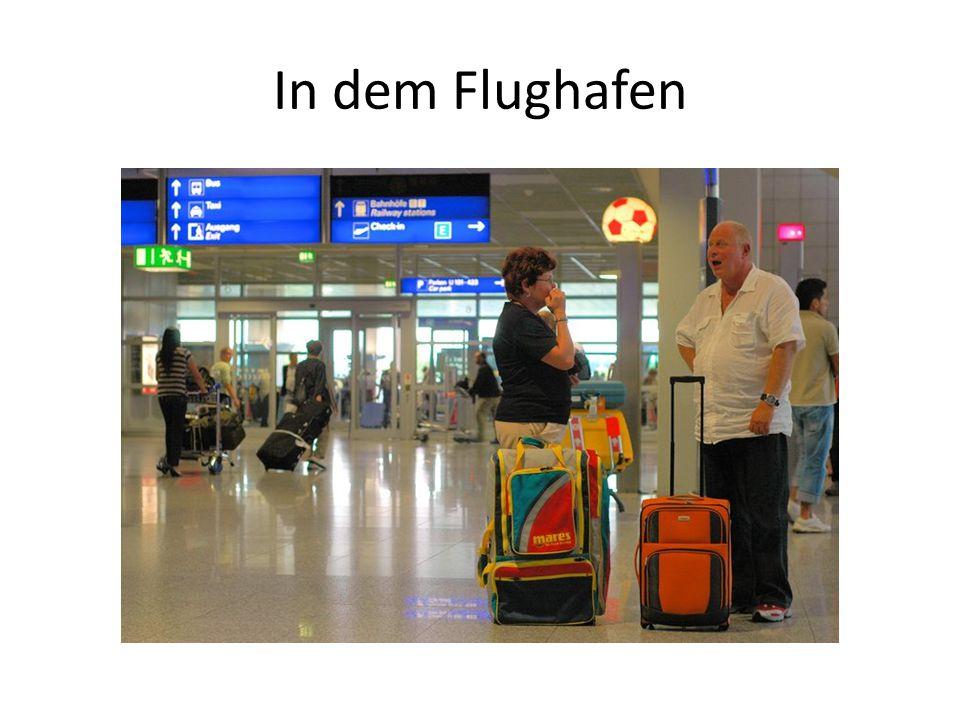 In dem Flughafen