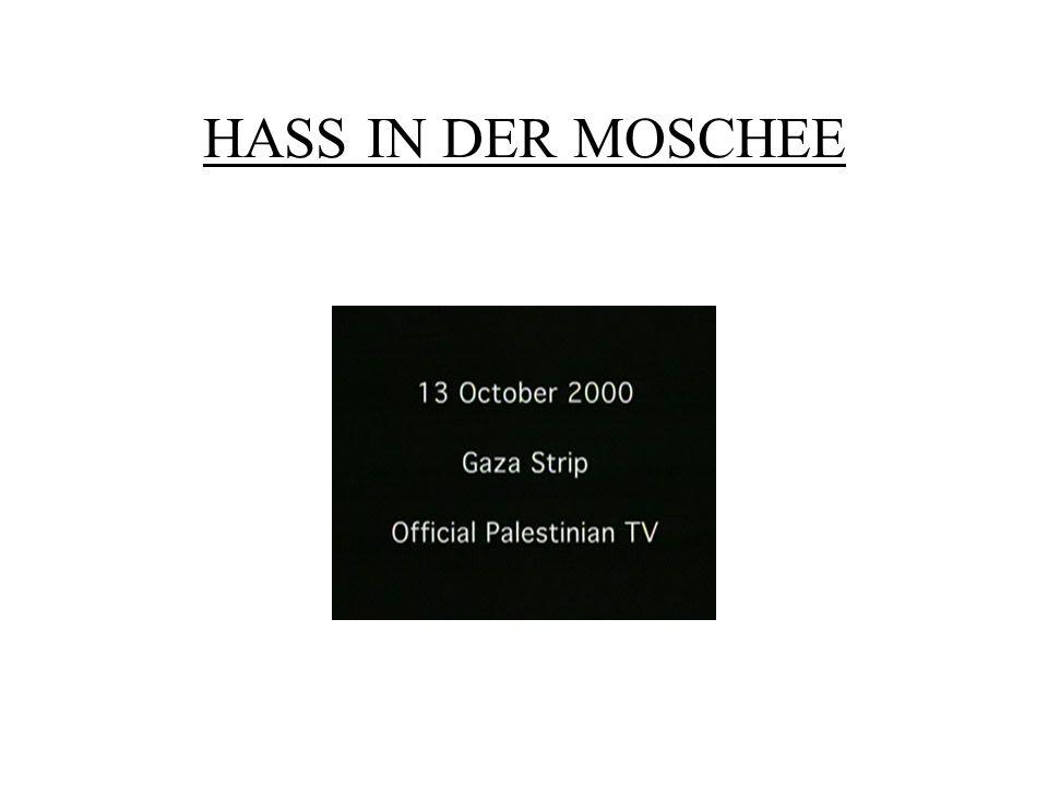 HASS IN DER MOSCHEE