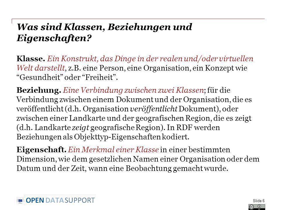 Eine Untereigenschaften in RDF definieren company type This property records the type of company.