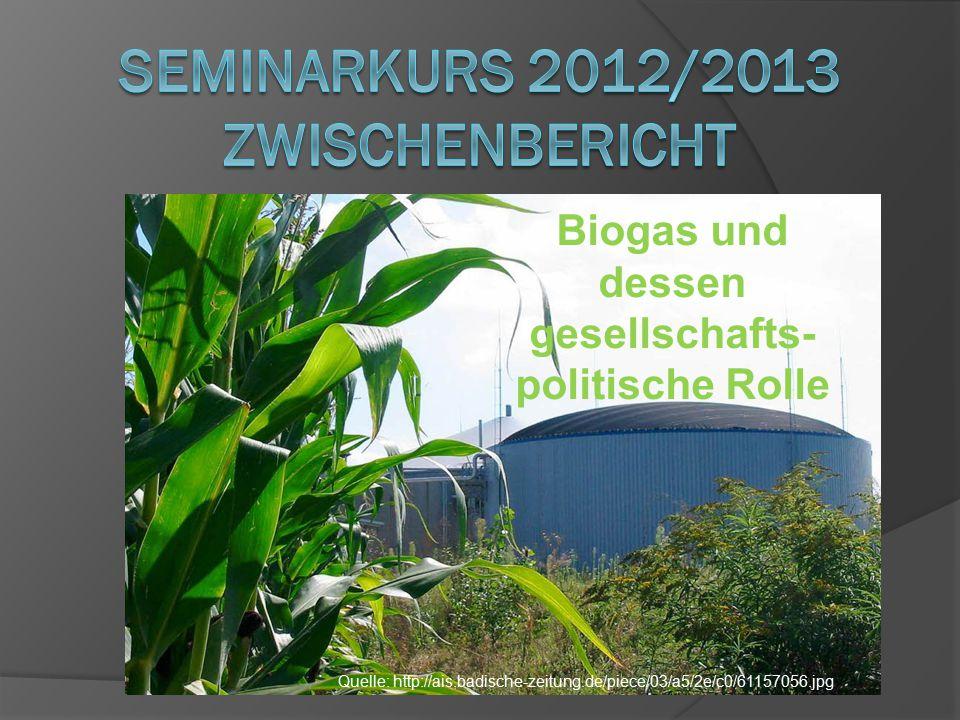 Biogas und dessen gesellschafts- politische Rolle Quelle: http://ais.badische-zeitung.de/piece/03/a5/2e/c0/61157056.jpg
