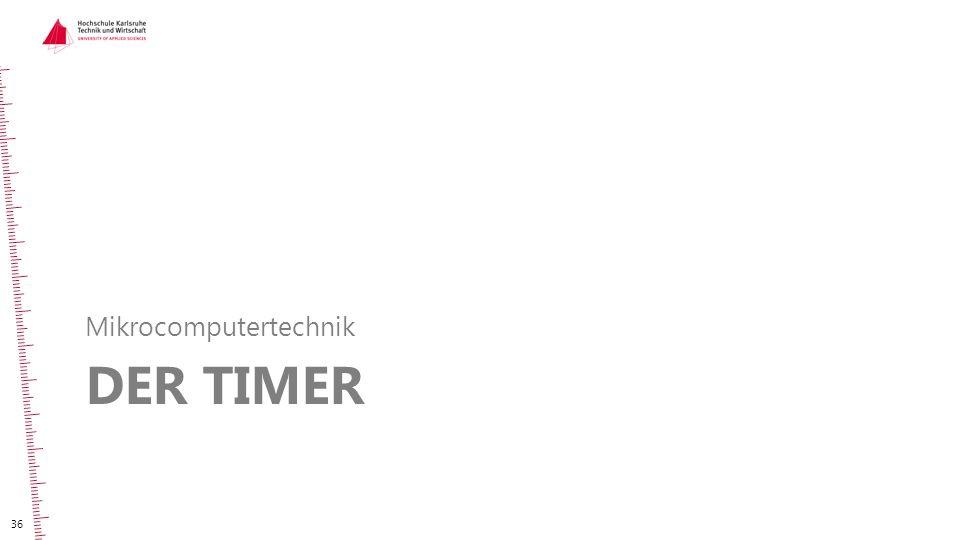 DER TIMER Mikrocomputertechnik 36