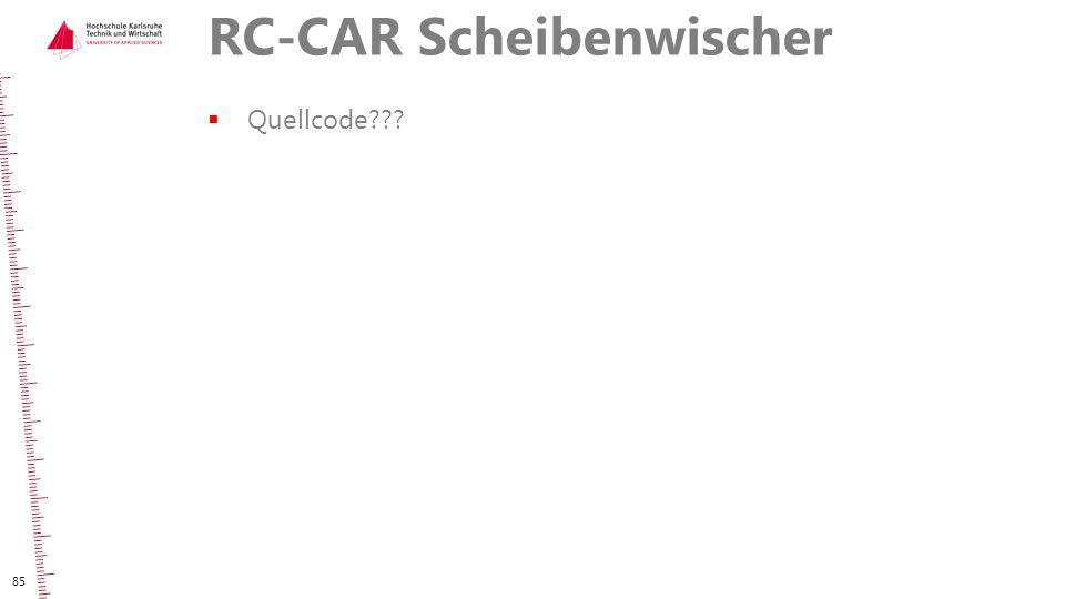 RC-CAR Scheibenwischer  Quellcode??? 85