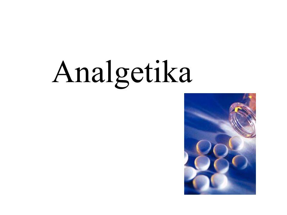 Antipyretische Analgetika Paracetamol wirkt gut analgetisch und antipyretisch keine antiphlogistische Wirkung gute enterale Resorption und Verträglichkeit Ausscheidung über Leber (Biotransformation) und Niere Kontraindikation: Leber- und Nierenerkrankungen nur bei extremer Überdosierung toxisch (>8g/d) –Therapie bei Vergiftung: Zufuhr von N-Acetylcystein